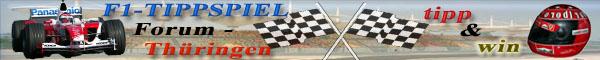 Formel 1 TippSpiel im Forum Thüringen, die Welt der schnellen Autos